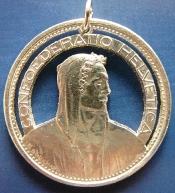5 Franken, Silber Schweiz
