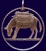 Esel St. Helena (GB)