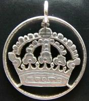 kleine Krone, Silber (alt)