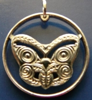 Maori-Maske Neuseeland