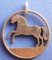 1 Krone Fjordpferd